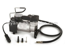 12 Volt Electric Tire Air Pump with Gauge for Bike or Auto