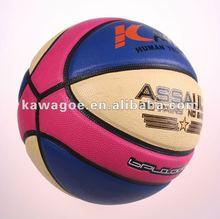 Laminated basket ball