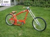26 inch hot sale fashionable red chopper bike