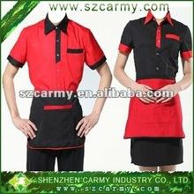 fashion restaurant hotel waiter waitress uniform,bellboy chambermaid uniform