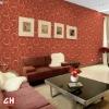 2013 hot sale wave design decortive 3d wallpaper wallcovering