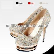 shoes 2012 women with diamonds high heel shoes WM5