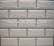 Glazed wall tiles concave-convex exterior 140X280