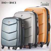 Unique decent eminent large 100% PC trolley travel suitcases