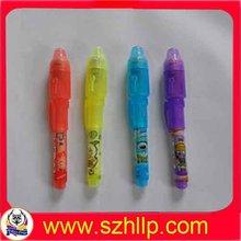 Invisible ink pen ,UV light pen