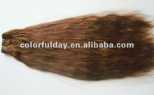 100% non processed full cuticle wavy virgin brazilian hair for wholesale