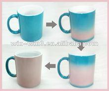 custom made heat sensitive color changing mugs