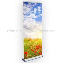 outdoor advertising aluinum roll up display