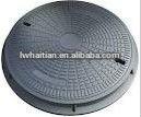 Light duty EN124 B125 sand casting manhole cover dimensions