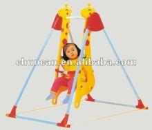 2015 baby plastic swing kid's indoor single swing