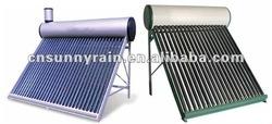 Sunnyrain compact non-pressure solar water heater