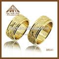 мода металл покрытием 18-каратного золотое кольцо
