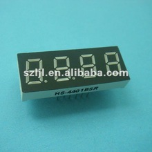 0.4 Inch Red Color 4 Digits 7 Segment LED Display/LED Digital Display/LED Numeric Display