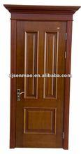 2012 natural teak wood veneer door design