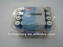 dry battery alkaline battery LR6 AA 24 pack