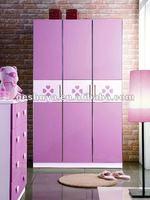 LB-AL3003 childrens bedroom wardrobe furniture