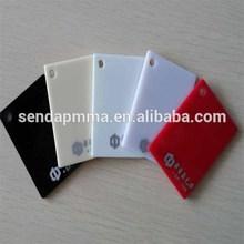 acrylic sheet white/ milky/ opal/beige/black color board sheet