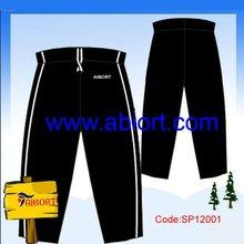 100% cotton cheap women sports pants