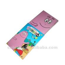 Portable CD DVD case for kids with cartoon printings