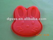 Animal shape silicone baking pan