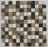 Latte Blend Natural Marble Stone Mosaic Art