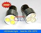 Aluminium housing universal used 12v led driving light type 1156/1157 base auto led car bulb led braking light CE