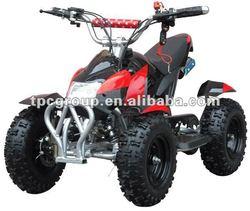 50cc, single cylinder, air-cooled, 2-stroke ATV