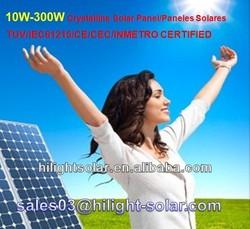 China manufacturer Hot sale monocrystalline 300w cheap solar panel