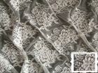 HIGH QUALITY embroidered lace fabric for curtain