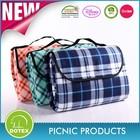 SEDEX BSCI DISNEY Factory Can Be Portable Waterproof Folding Travel Blanket / Folding Picnic Blanket