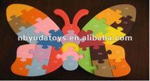 ICTI factory/2014 hottest toy/EVA soft enlighted puzzles/cartoon EVA figure