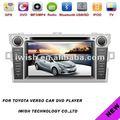 """7 """" navigateur pour 2012 toyota verso dvd de voiture gps"""
