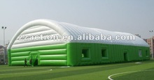 2012 hot selling outdoor sport games inflatable air dome for sport games