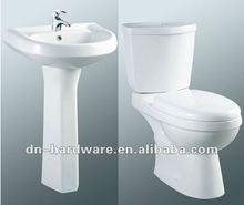 DZO060 Pedestal Basin And Toilet Sanitaryware