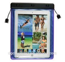 2014 hot sale pvc custom waterproof swimming cover for ipad