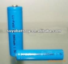 1.5V AA Lithium iron battery
