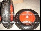 3.00-4 rubber wheel