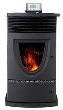 Cast iron& metal sheet pellet stove