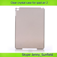 ultra thin clear for new ipad crystal case, for ipad air 2 case crystal ,for ipad case crystal
