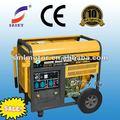 สำหรับการขายที่บ้านและในเชิงพาณิชย์acเชื่อมเครื่องกำเนิดไฟฟ้าเบนซิน2- 5kvaโรงไฟฟ้า