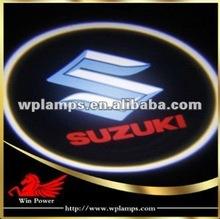 12V 2012 car logo ghost shadow light(laser light) new arriving Suzuki