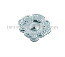 2012 new style flower zamak cabinet knob