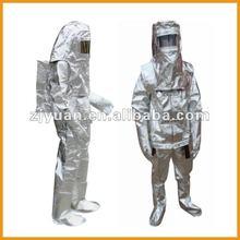 Fire proximity suit/ Aluminized Proximity Suit/ 1000 degree heat resistance suit