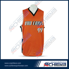 custom sublimated basketball jerseys pink