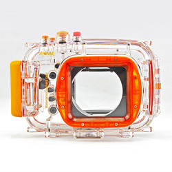 Universal underwater camera covers waterproof case for Nikon J1 long shot (10-30mm)