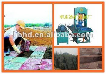 small scale road brick machine production