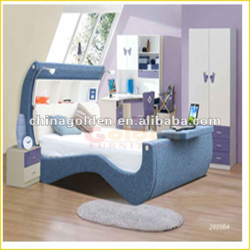 Moda moderna camera da letto set ragazza auto d2809b# letto