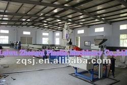 ZQSJ-65/33 high efficient high speed mosaic flat dripper drip irrigation pipe making machine