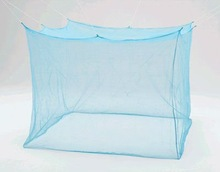 recutagular insecticide treated indoor mosquito net/square mosquito bed canopy net
