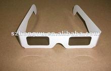 Cheap 3D paper circular polarized glasses